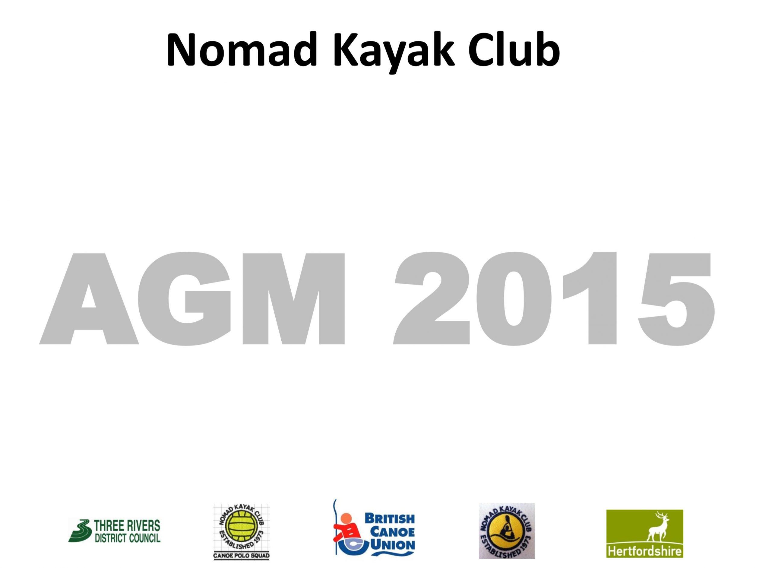 Nomad Kayak Club AGM 2015 Minutes