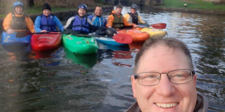 Pre-Christmas paddle